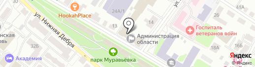 Комиссия по делам несовершеннолетних и защите их прав Костромской области на карте Костромы