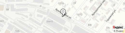 Альбатрос на карте Иваново