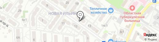 Ивквартал на карте Иваново