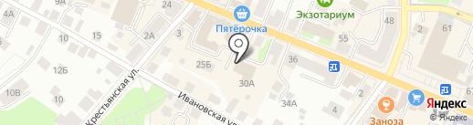 Союз художников России на карте Костромы