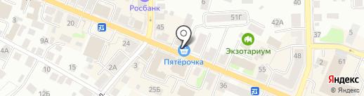 Пятерочка на карте Костромы