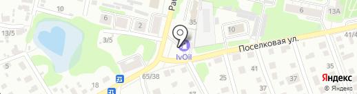 АЗС на карте Иваново
