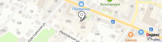 Выставочный зал на карте Костромы