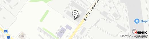 Автостроитель на карте Иваново