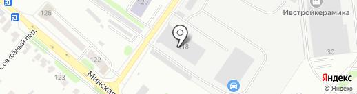 Росавтоиваново на карте Иваново