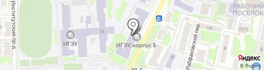 Банкомат на карте Иваново