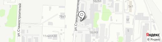 Автосервис кузовного ремонта на карте Иваново