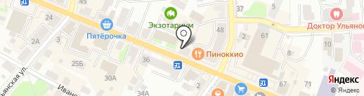Восторг на карте Костромы