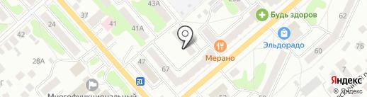 Опорный пункт полиции на карте Костромы