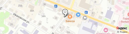 Старый дворик на карте Костромы