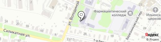 Средняя общеобразовательная школа №54 на карте Иваново