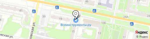 Мята на карте Иваново