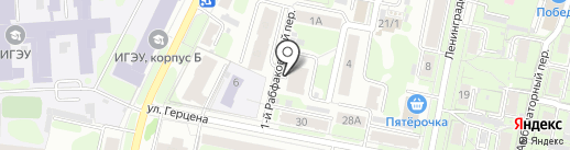 Продовольственный магазин на карте Иваново
