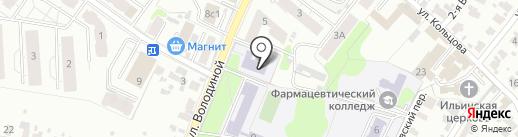 Детская музыкальная школа №1 на карте Иваново