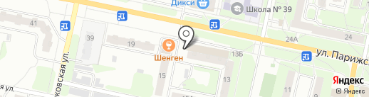 Лоскуток на карте Иваново