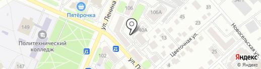 Анюта на карте Костромы