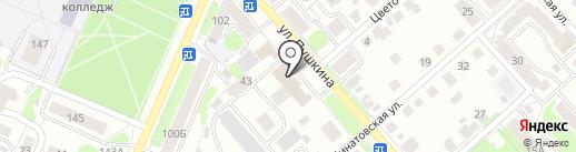 Парламентёр на карте Костромы