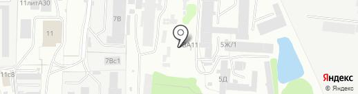 Вторчермет НЛМК Север на карте Иваново