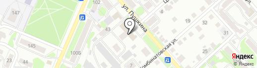 ГазИнженерПроект на карте Костромы