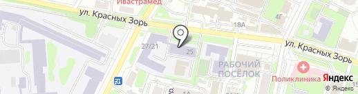 Центр профессионального дополнительного образования на карте Иваново