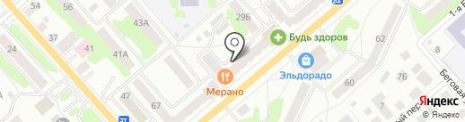 Добрый улей на карте Костромы