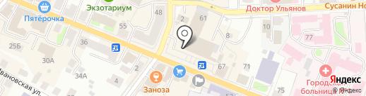 Цех по производству паровых пирожков на карте Костромы
