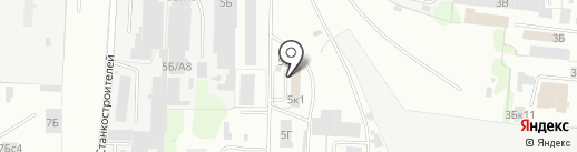 Пункт технического осмотра на карте Иваново