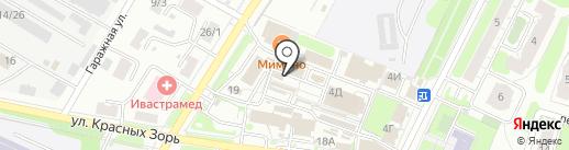 Антенны Кабель на карте Иваново