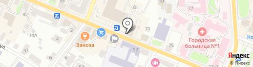 Логос, ЗАО на карте Костромы