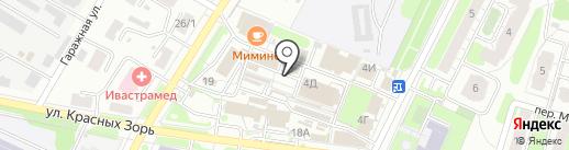 Обжора на карте Иваново