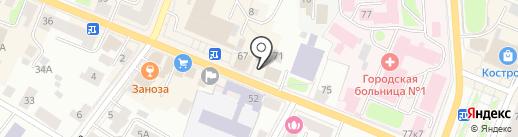 Энергогарант на карте Костромы