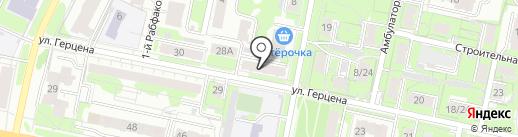 Эдем на карте Иваново