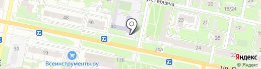 Средняя общеобразовательная школа №39, МБОУ на карте Иваново