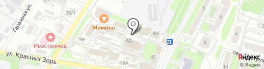 Диамант на карте Иваново