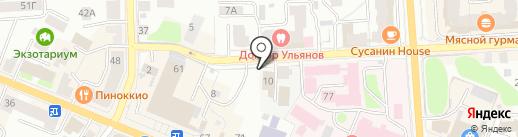 Отдел военного комиссариата Костромской области по Костромскому району на карте Костромы