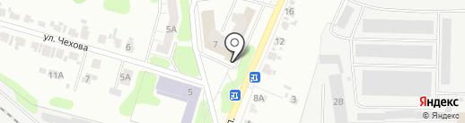 Корона на карте Иваново