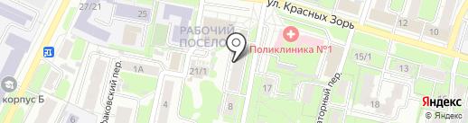 Сабиново на карте Иваново