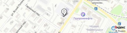 Средняя общеобразовательная школа №55 на карте Иваново