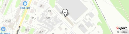 Стиль на карте Костромы