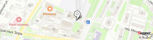 Бензо Мастер на карте Иваново