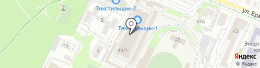 Исток-Текс на карте Иваново