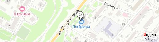 Банкомат, Минбанк, ПАО на карте Костромы