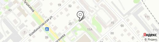 Ветеринарная аптека на карте Костромы