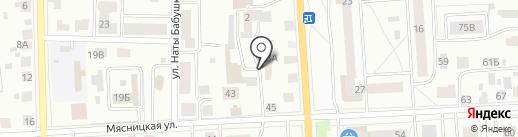 РЕСУРС44 на карте Костромы