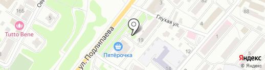 ДВ мебель на карте Костромы