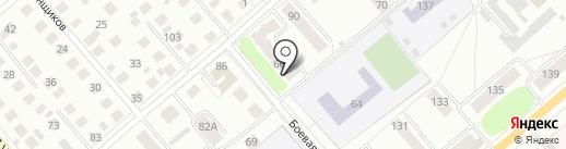 Дэ Виль на карте Костромы
