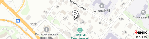 Вдохновение на карте Костромы