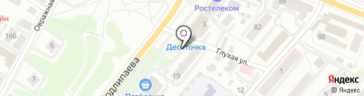 Русский лен на карте Костромы