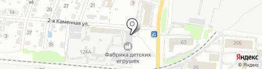Малка на карте Иваново