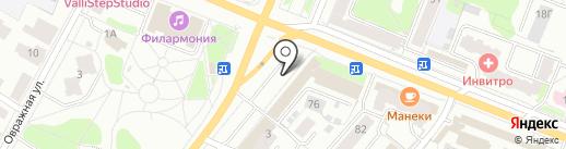 Одеть Доктора на карте Костромы